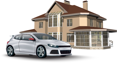 House and Car